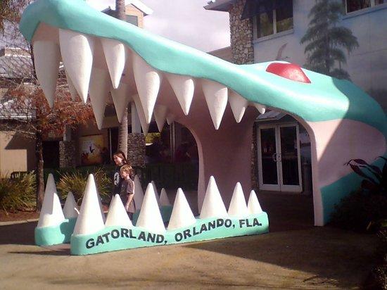 Gatorland : Front entrance