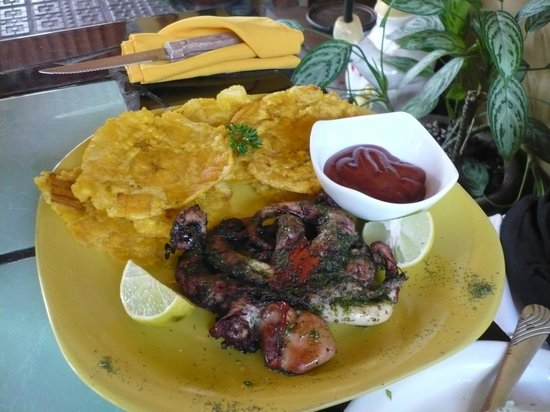 Bruschetta Restaurant: Octopus dish