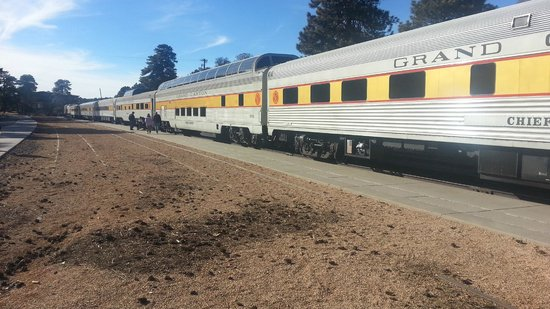 The Grand Canyon Railway at The Grand Canyon depot