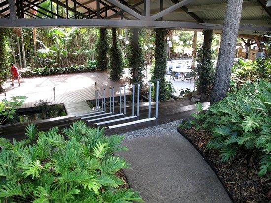 Cedar Creek Lodges: Wedding area, getting ready