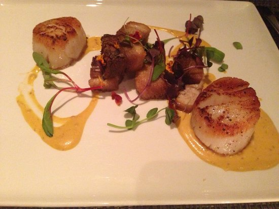 Painters Hall Bistro: Awesome Scallops!
