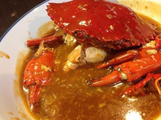 Wisata Bahari Seafood Restaurant: Wisata Bahari Style crab