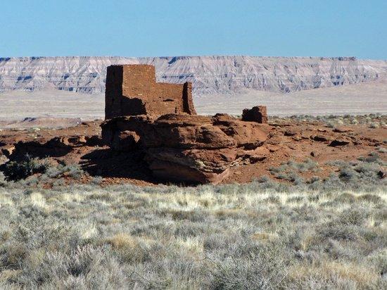 Wupatki National Monument: Wukoki ruin