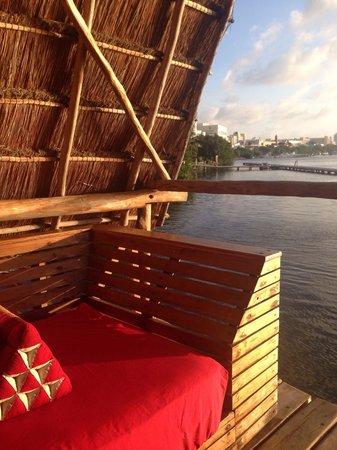 Thai Lounge : Sofá privado para nuestra mesa