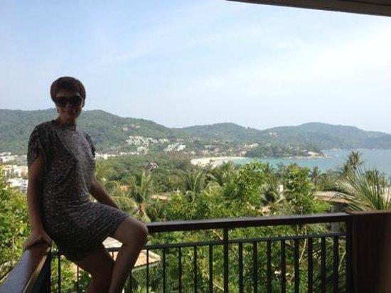 Novotel Phuket Kata Avista Resort and Spa : Это вид из окна ( т.е балкона)