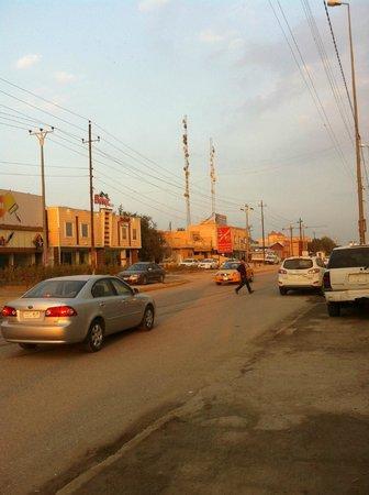 ذي قار, العراق: Nasiriyah city, Baghdad Street 2013/14