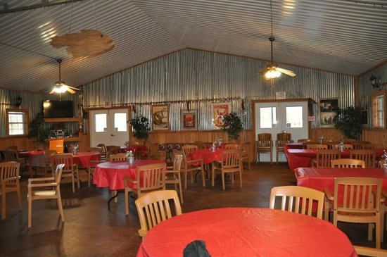 Poche's Fish-N-Camp: inside of activity center