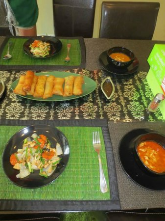 Pai Cookery Class: Our final product of the spring roll course