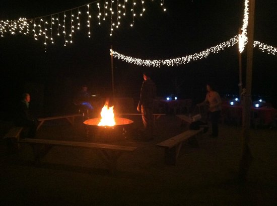 Corral West Horse Adventures: Fire pit