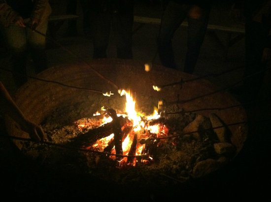 Corral West Horse Adventures: Toasting marshmallows