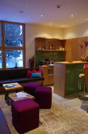 Hotel Garni Dr. Otto Murr: Lounge and bar