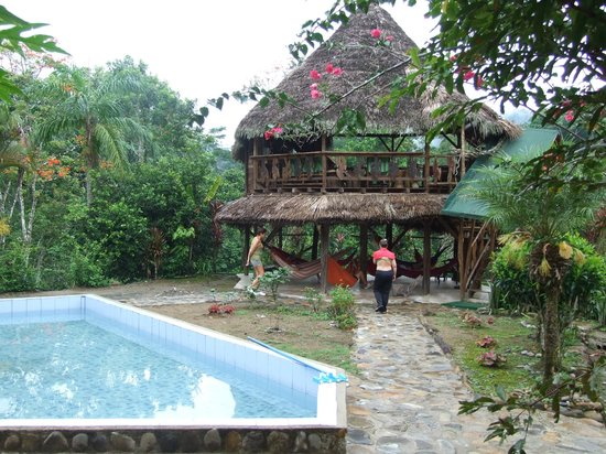 Suchipakari Ecuadorian Jungle Lodge: piscina y zona de descanso