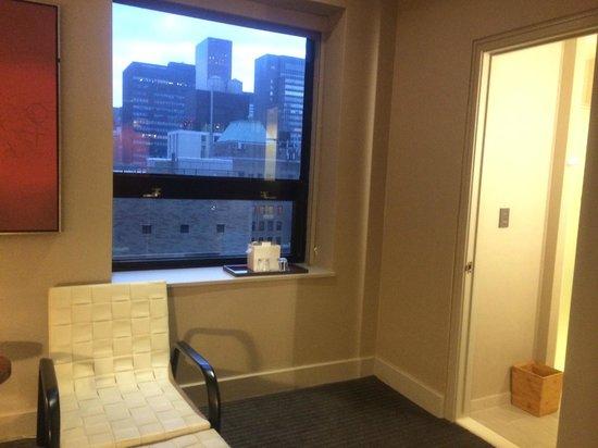 Grand Hyatt New York: WINDOW VIEW