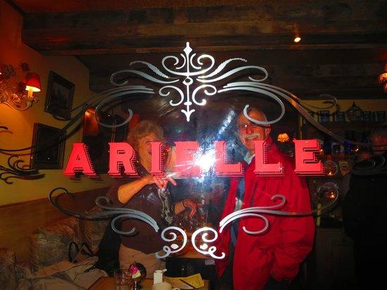 Arielle Restaurant: having fun at Arielle