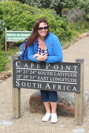 Berg en Zee Guest House: Cape Point where the two oceans meat