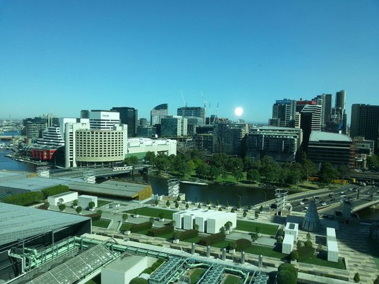 Crown Promenade Melbourne: View from room 1779