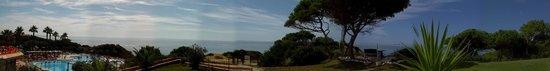 Auramar Beach Resort: panorama view