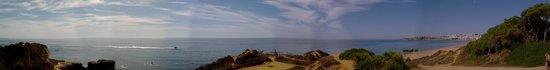 Auramar Beach Resort: panoramic view of beach and sea