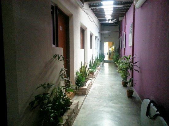 Raizzy's Guesthouse: Ground Floor Hallway