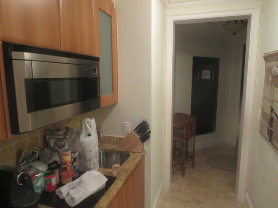 Seven Stars Resort & Spa : kitchenette