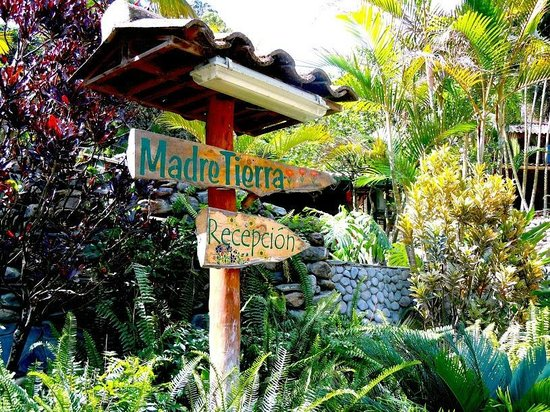 Madre Tierra Resort & Spa: Welcome to Madre Tierra Resort and Spa, right this way...