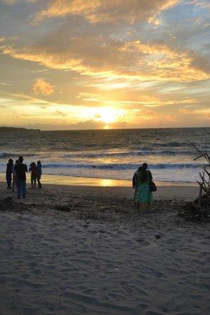 Romantic Dinner in Jimbaran Bay: Sunset at Jimbaran