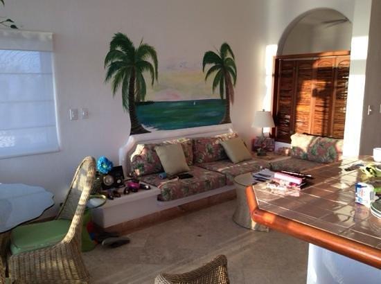 Playa Caribe: living area