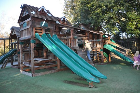 the Jungle Lodge playground Picture of Zoo Of Acadiana