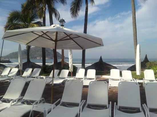 Pueblo Bonito Mazatlan: View from our chair!