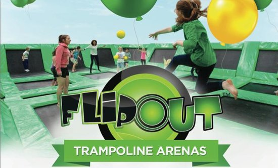 Flip Out Trampoline Arena Charmhaven