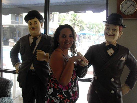 Orlando Continental Plaza Hotel: hall de entrada