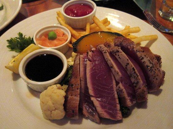 Galley Seafood Grill & Bar : Ahi