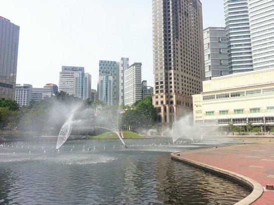 Centre ville de Kuala Lumpur : Park View