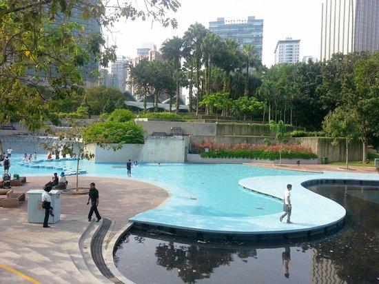 Centre ville de Kuala Lumpur : Water features