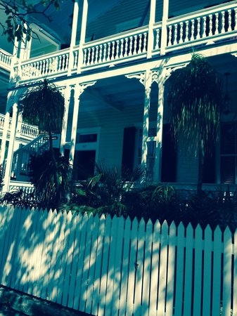 Key West Bed and Breakfast: Beautiful home and garden