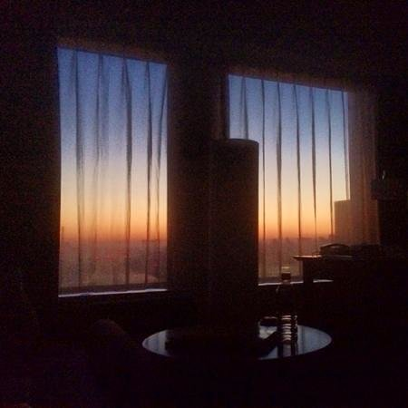 Keio Plaza Hotel Tokyo: sunrise