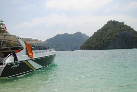 Samui Boat Charter: Our great boat for the day