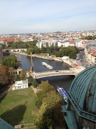 Berliner Dom: Vista do alto da Catedral