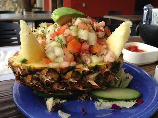 Villa Ortega's : Amazing fish ceviche