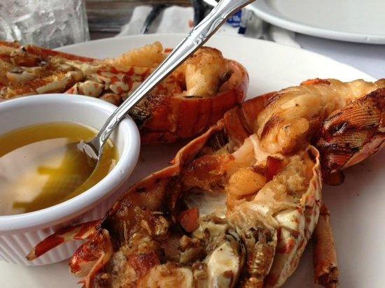 Villa Ortega's : Their 'small' lobster portion
