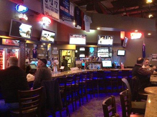 T C Hooligans : Bar area