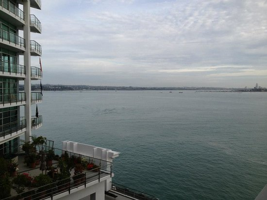 Hilton Auckland: The view