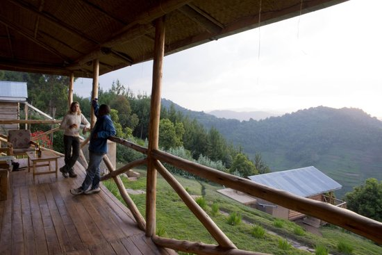 Bakiga Lodge: View from dining deck