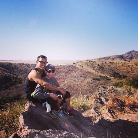 Indian Lodge: Hiking trail