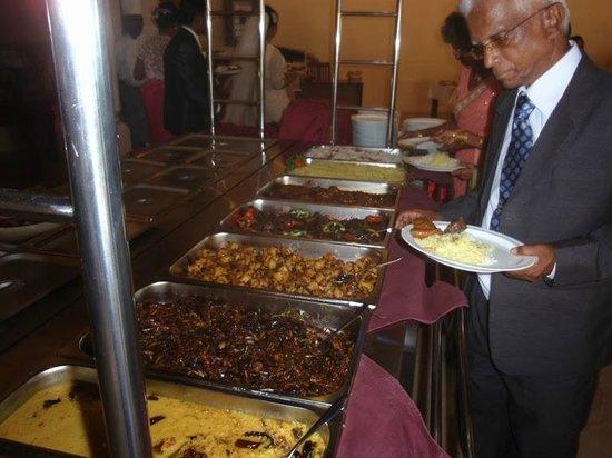 Rani Beach Resort: Buffet Lay out