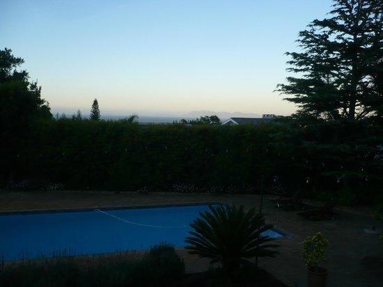 At Winkfield House: Blick zum Kap der Guten Hoffnung- 6 :00 Uhr morgens