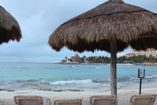 Catalonia Riviera Maya : petite plage tranquille