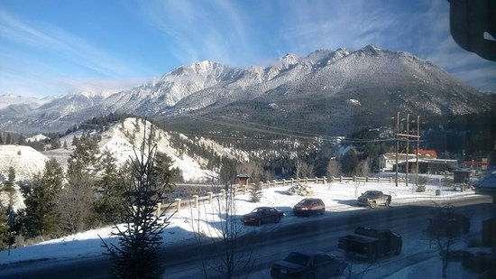 Best Western Plus Prestige Inn Radium Hot Springs: The view from the room,