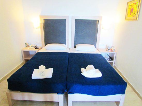 Elounda Ilion Hotel: Наше бунгало, спальные места