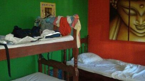 Buddha House Boutique Hostel: Dorm room in use